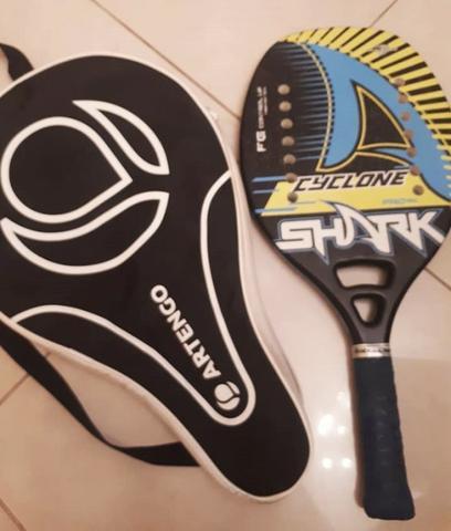 Raquete beach tênis semi nova