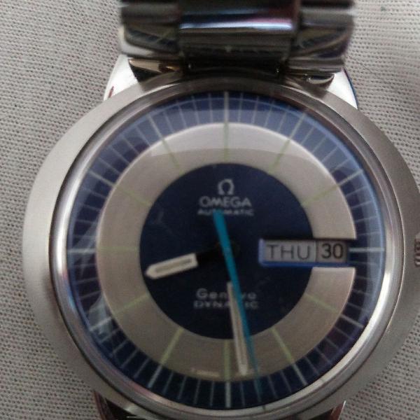 Relógio omega genève dynamic automático aço todo