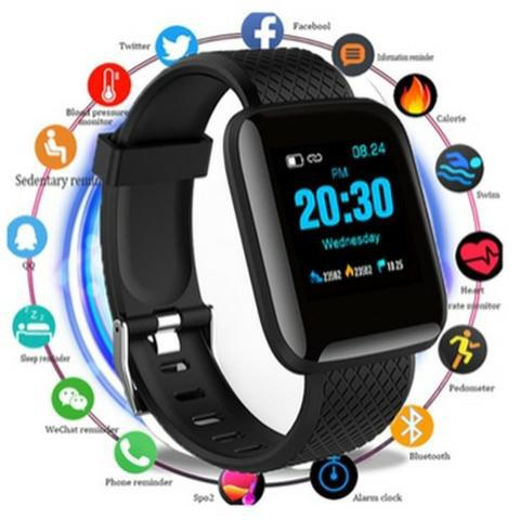 Relogio smartwatch d13 fit pro android e ios bluetooth