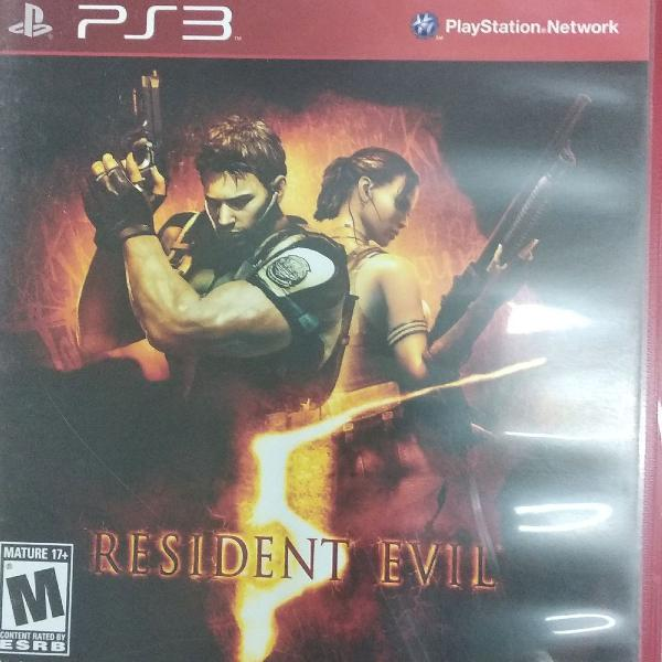Resident evil 5 ps3