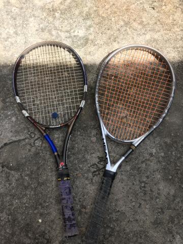 Vende se duas raquetes, babolat e head