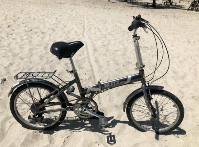 Vendo bike dobrável