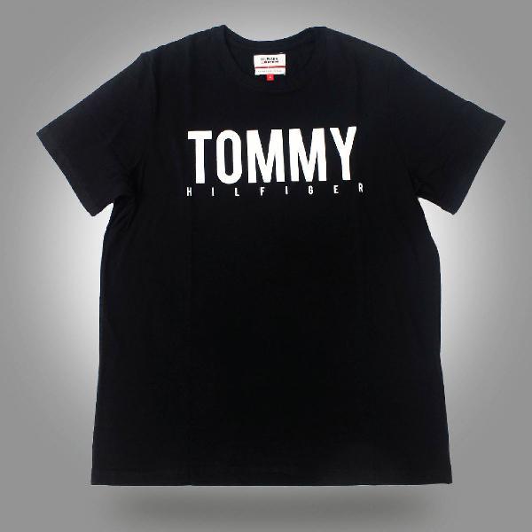 Camisa tommy hilfiger preta