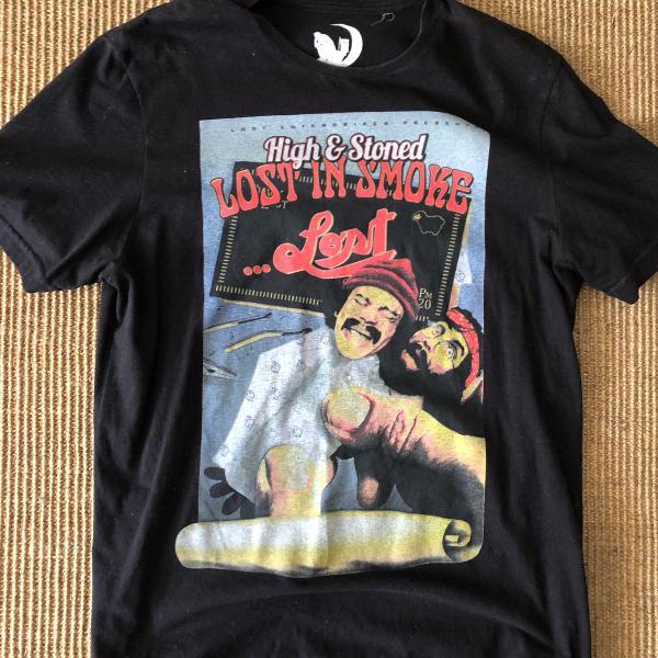 Camiseta lost cheech e chong exclusiva