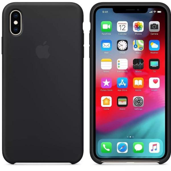 Capinha capa case silicone iphone x xr xs max + película