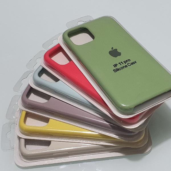 Case silicone iphone 11 pro