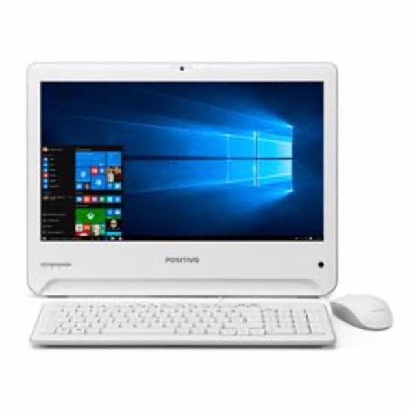 Computador all in one positivo branco