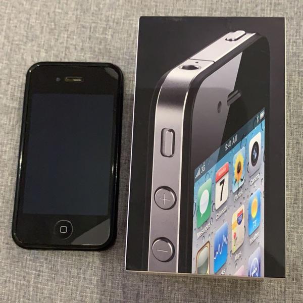 Iphone 4 preto