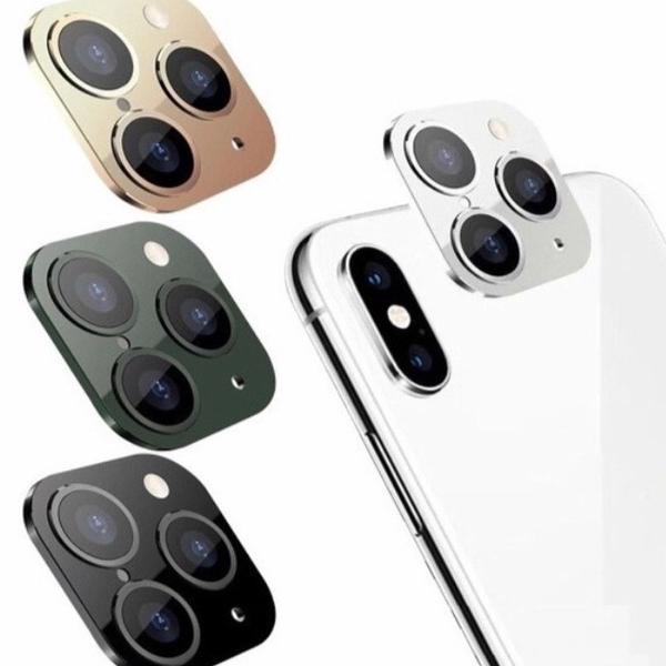 Lente estética iphone x xs xr em 11pro max