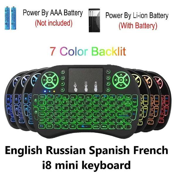 Mini teclado wireless ideal para tv box