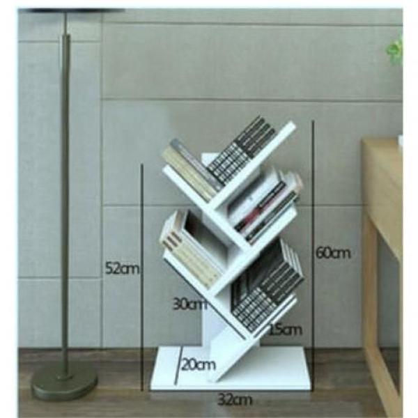 Porta livros de chão (p) decoração com kit de