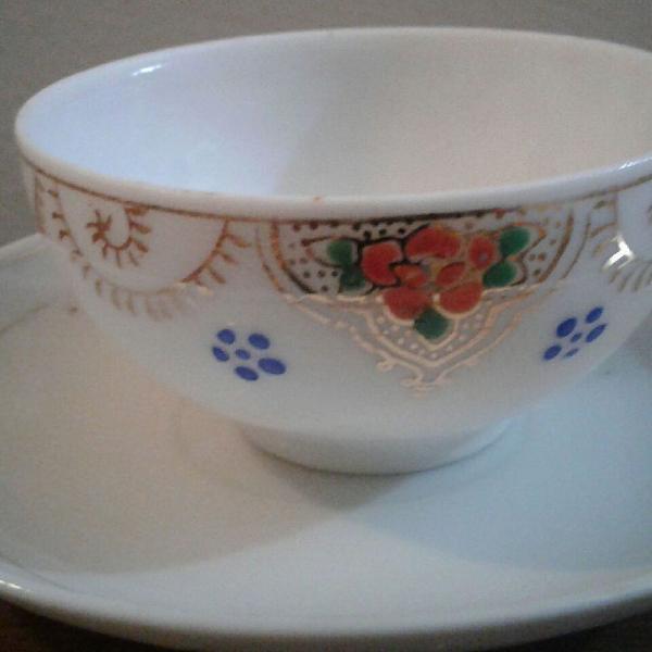 Xícara de chá porcelana japonesa antiga