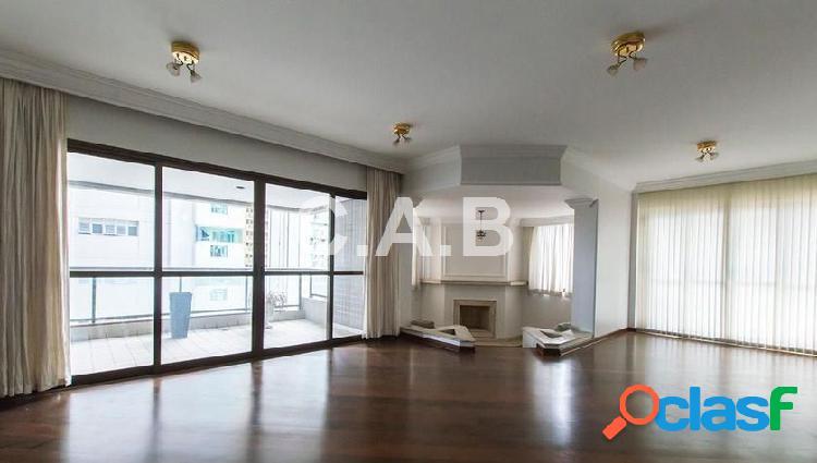 Lindo apartamento 288m2 locação edifício chateau- 4 dormitorios