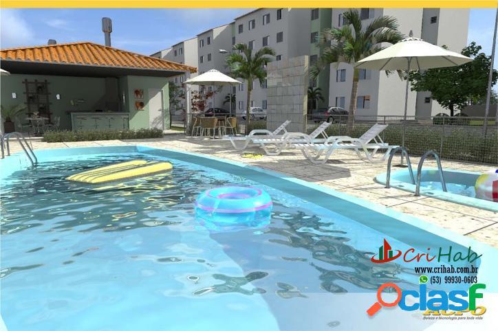 Residencial life club - apartamento fragata mcmv - pelotas rs