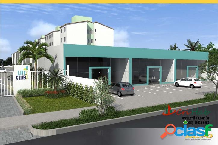 Residencial Life Club - Apartamento Fragata MCMV - Pelotas RS 1
