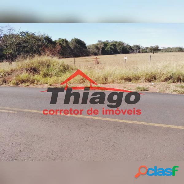Terreno com 30000 m2 em uberlândia - zona rural por 750 mil à venda