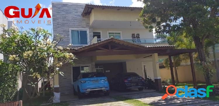 Casa dupléx com 04 suítes para locação no quintas do lago no eusébio