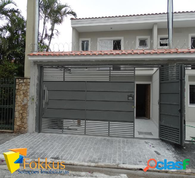 Excelente casa nova de frente para a rua - vila guilherme - 3 dormitórios