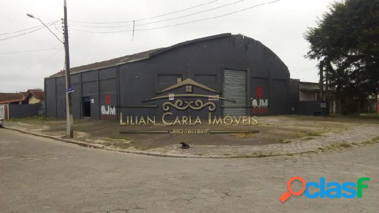 Galpão com 828 m2 em mongaguá - itaguai por 1.500.000,00 à venda