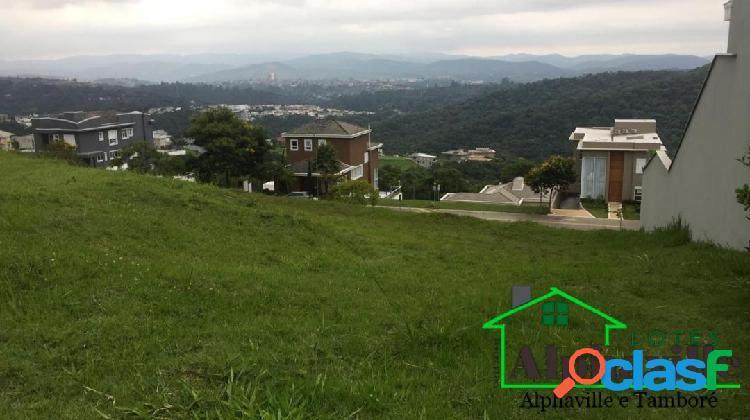 Terreno à venda no residencial gênesis 2 com vista permanente