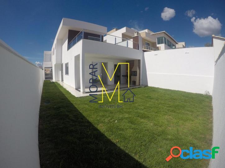 Casa com 3 dormitórios à venda- condomínio trilhas do sol - lagoa santa/mg