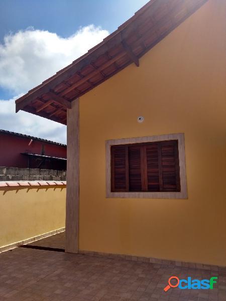Casa nova ótimo acabamento - ótimo local- bairro nova itanhaém-