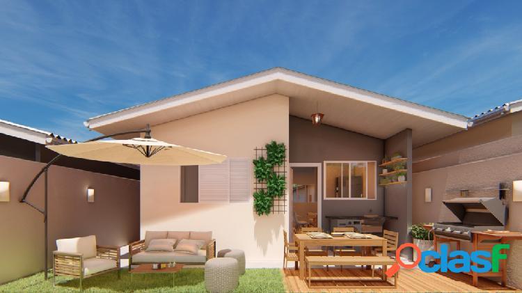 Casa em condomínio 48,5m² em salto de pirapora - residencial terras do sol