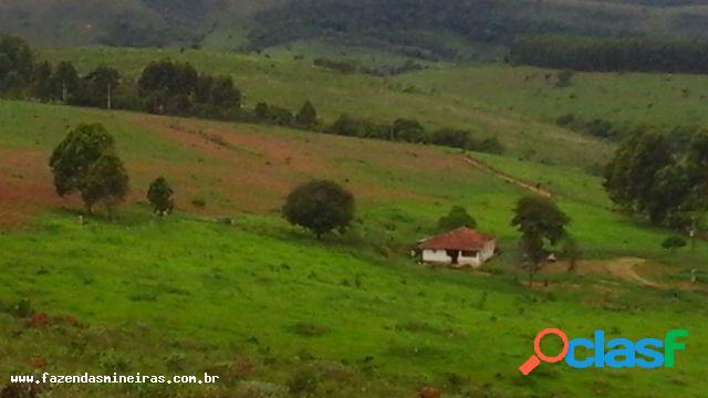 Fazenda para venda em santa rita de ibitipoca / mg no bairro zona rural