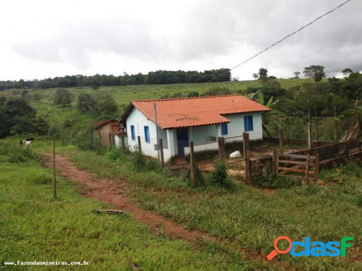 Fazenda para venda em carmópolis de minas / mg no bairro zona rural