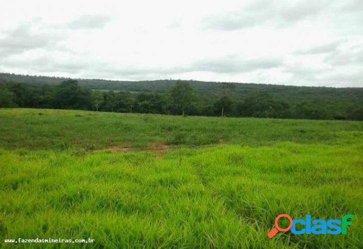 Fazenda para venda em três marias / mg no bairro fazenda com aptidão para agricultura intensiva, pecuária leite/corte