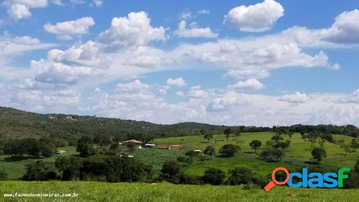 Fazenda para venda em curvelo / mg no bairro fazenda com aptidão para agricultura intensiva, pecuária leite/corte