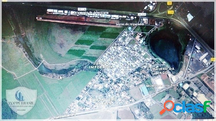 TE206 - Terreno Industrial à Venda em Nova Odessa SP, 2.500 m², PLANO. LOCA