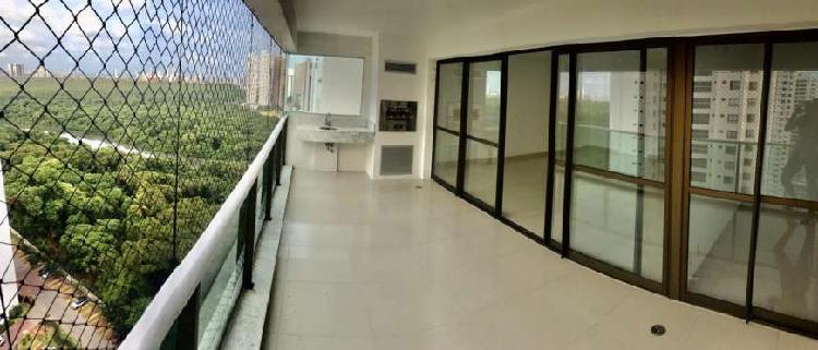 Apartamento 170m², 04 suítes le parc boa viagem pronto