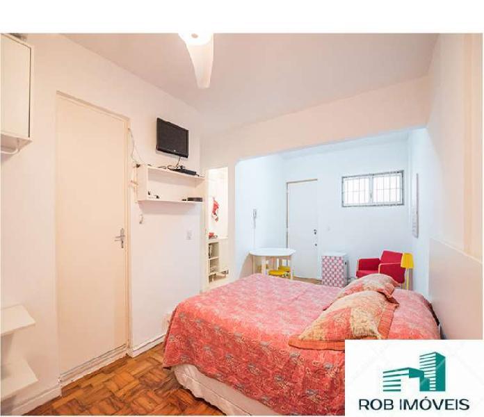Apartamento para aluguel tem 28 metros quadrados em vila