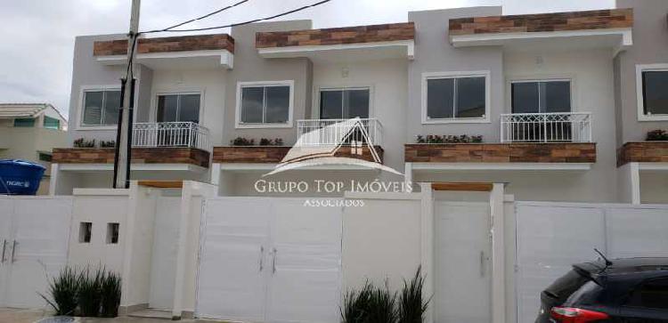 Excelente casa duplex condomínio taquara