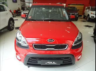 Kia soul 1.6 u.173 16v flex automático 2012 0 km.
