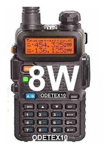 5x radio ht 8w baofeng uv 5r fm talkabout dual uhf vhf v82