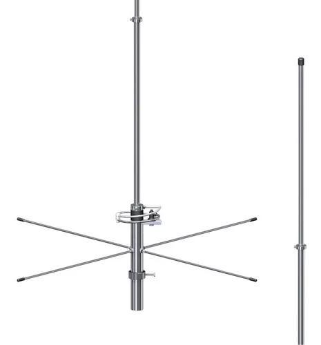 Antena base vhf 5/8 de onda 3db de ganho steelbras - ap5249