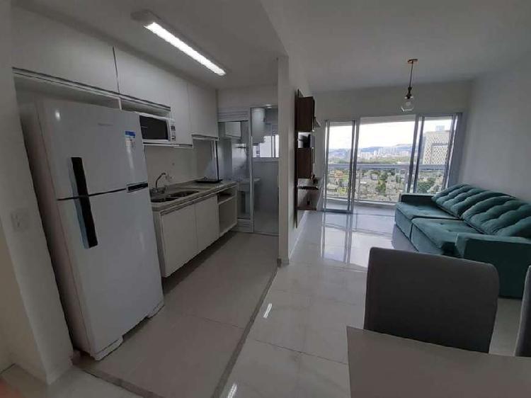 Apartamento mobiliado primeira locação