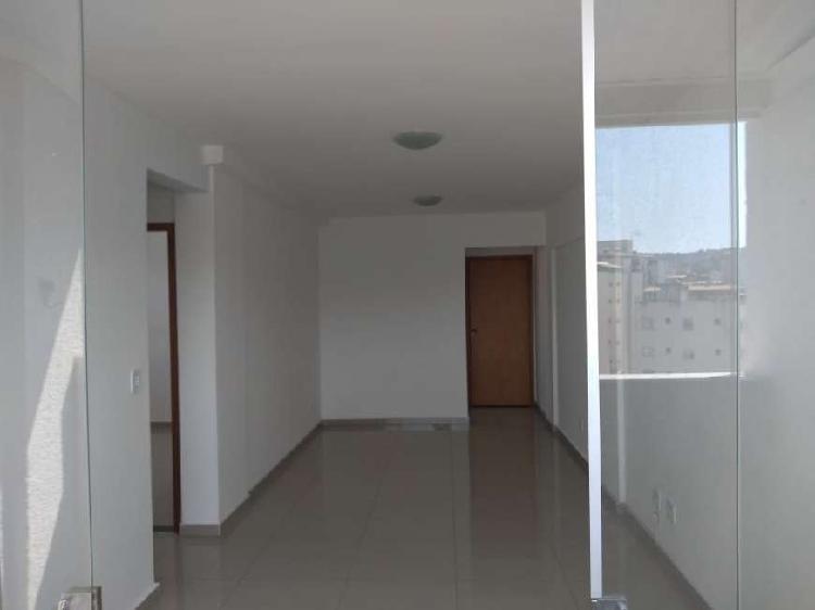 Apartamento para venda com 2 quartos, armários e varanda no
