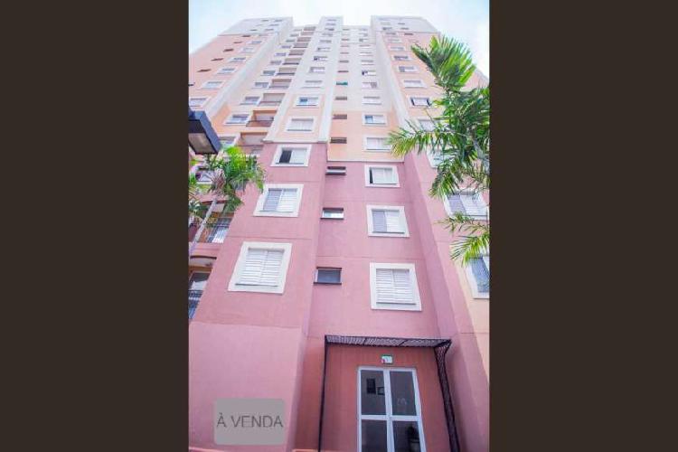Apartamento para venda possui 51 metros quadrados com 2