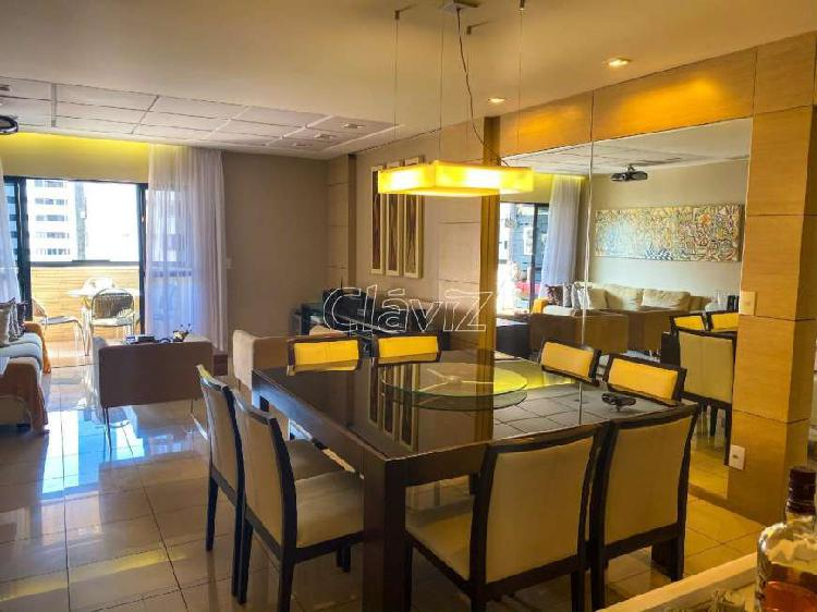Apartamento à venda, 3 quartos, 2 vagas, ponta verde -