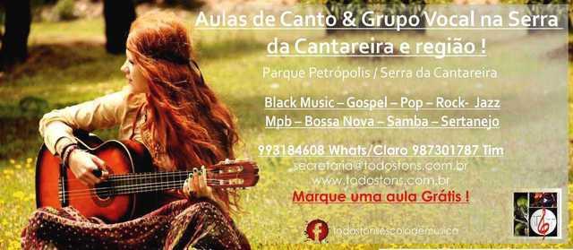 Aulas de Música na Serra da Cantareira e região