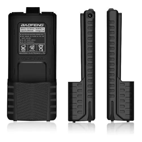 Bateria estendida baofeng ht uv-5r uv-5ra 3800mah x 7,4v
