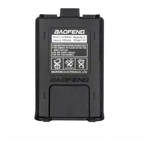 Bateria ht baofeng original ® 1800 mah 7,4 v uv5r uv5ra +
