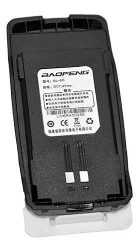 Bateria ht baofeng original 1800mah 7,4 v uv6r bl-6r