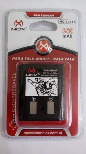 Bateria radio talk about motorola 3,6v 650mah