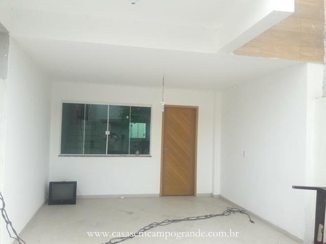 Campo grande - pica-pau verde - casa duplex nova 3 quartos/1