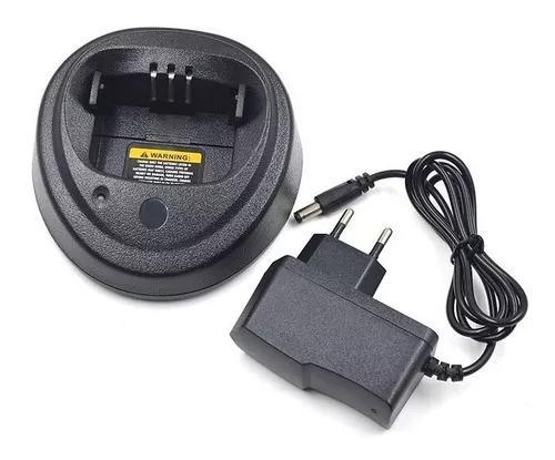 Carregador + fonte p/ motorola ep450 dep450 na caixa zero