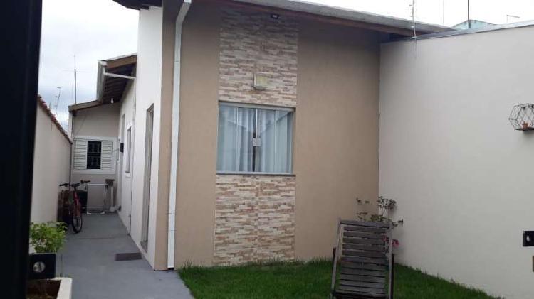 Casa térrea estoril - taubaté - 2 dormitório sendo 1